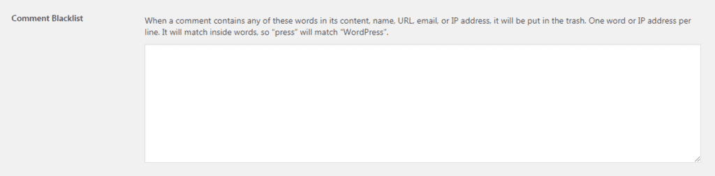 Spam in blogs: Stop Comment Spam on Your WordPress Website