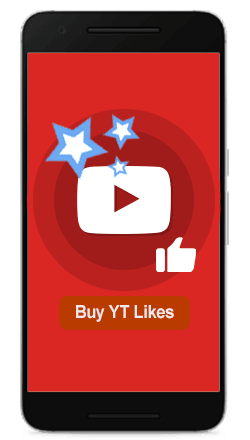 Buy YouTube Likes 100% Active and Real $1.50